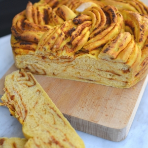 Sweet Potato and Sun Dried Tomato Braided Bread