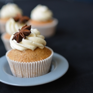 Chai Tea Spiced Cupcakes