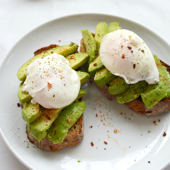 Avocado and Poached Egg Brunch Toast | Lauren Caris Cooks