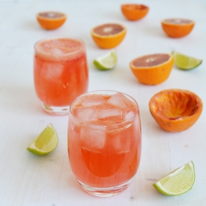 Blood Orange Gin and Tonic - Lauren Caris Cooks
