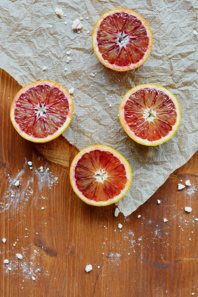 Blood Orange Meringue Pies - Lauren Caris Cooks