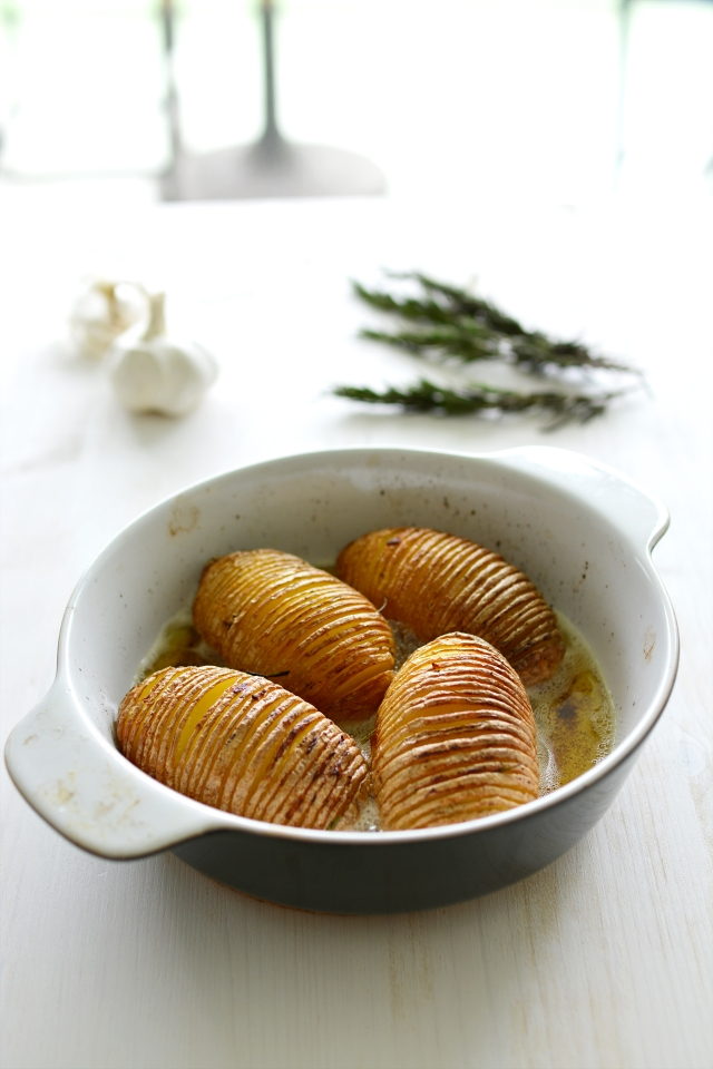 Garlic Roast Potatoes 3