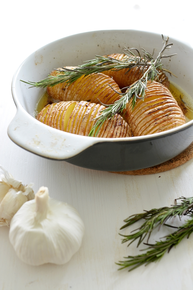 Garlic Roast Potatoes 5