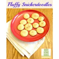 Fluffy Snickerdoodles | Mom Home Guide