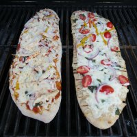 Grilled Margherita Pizza | Practical Mommy