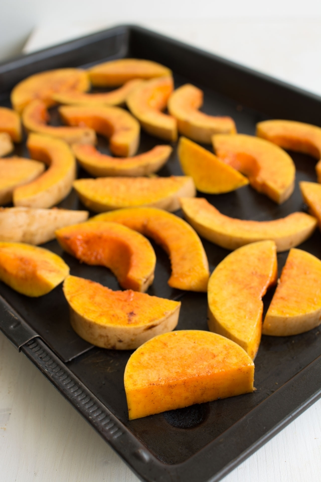 Roasted Butternut Squash with a Balsamic Reduction | Lauren Caris Cooks