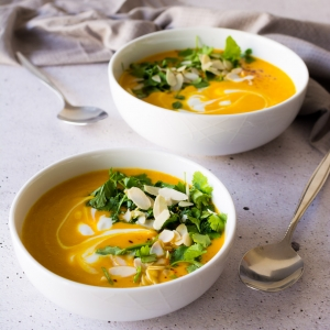Spicy Sweet Potato Soup