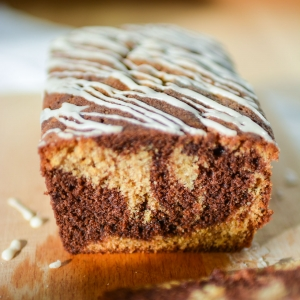 Chocolate and Ginger Loaf Cake