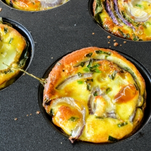 Full of Goodness Egg Breakfast Muffins