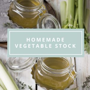 Simple Homemade Vegetable Stock