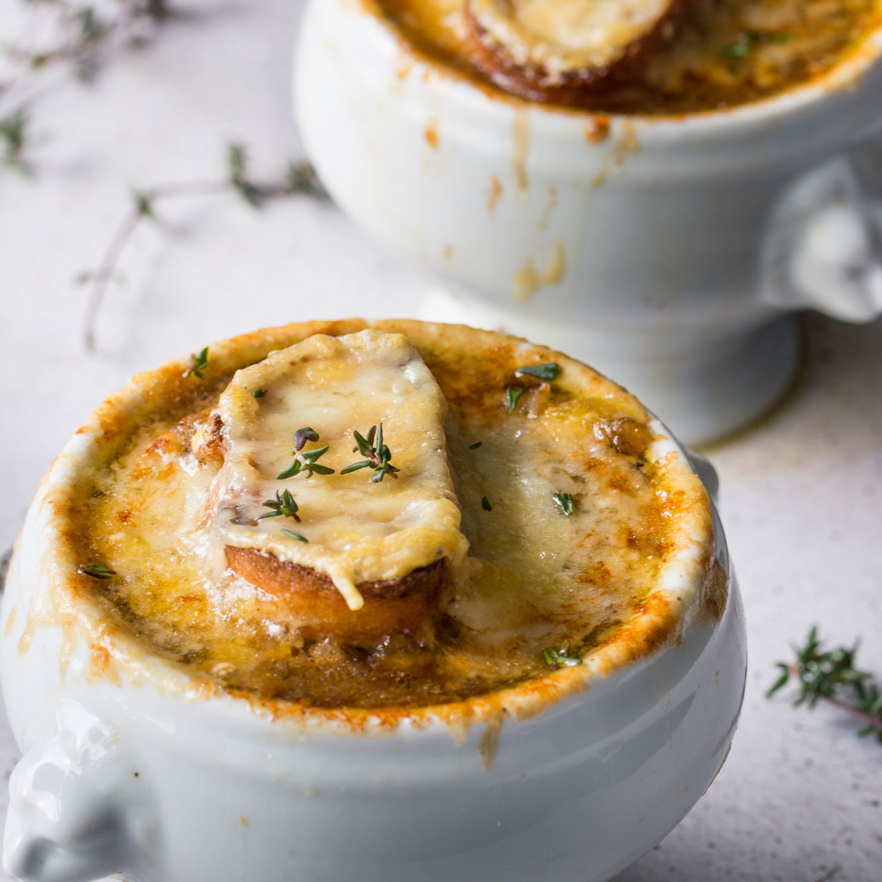 Vegetarian french onion soup lauren caris cooks for French starters vegetarian