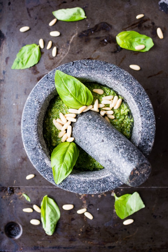 Pesto 3 ways, some fun variations on a classic pesto to shake things up! Pesto is a great recipe to have on hand, it's versatile, quick and easy! Why not try making some homemade?