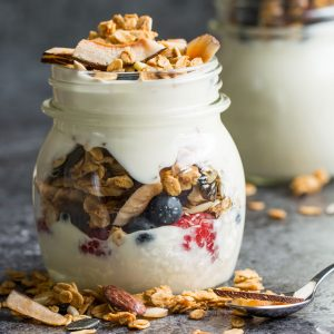 Super Easy Toasted Coconut Granola