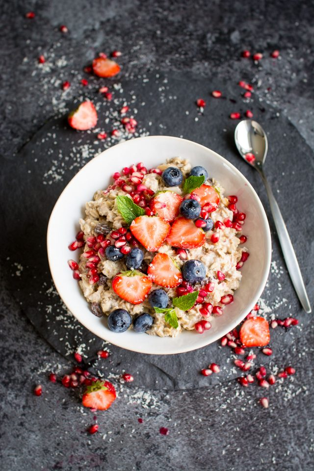 Vegan Bircher Muesli is a great, delicious and nutritious start to your day. Great for preparing in advance, this simple breakfast is great for those mornings you are on the go!