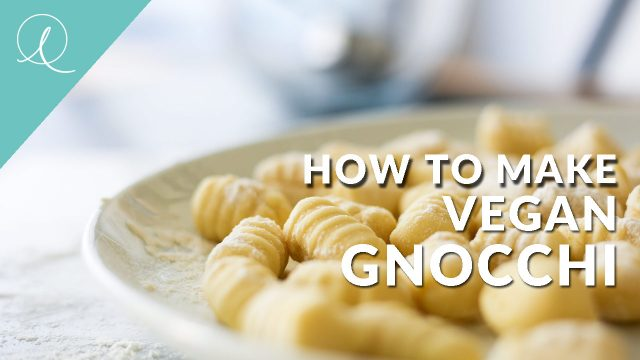 Vegan Gnocchi, a super easy dish to make when you fancy something like pasta... but not ACTUALLY pasta