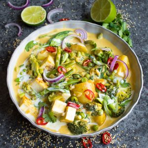 Vegan Red Thai Coconut Curry