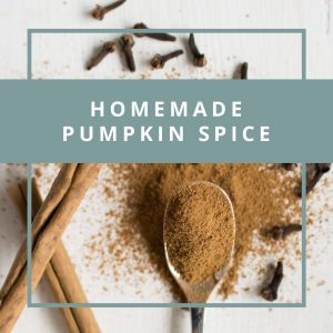 Homemade Pumpkin Spice Mix