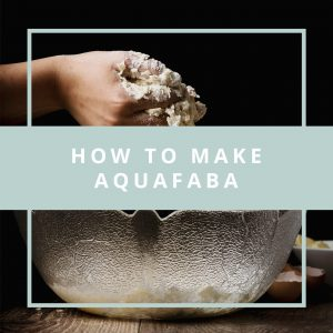 How To Make Aquafaba – Maybe the BEST Egg Replacement Ever!