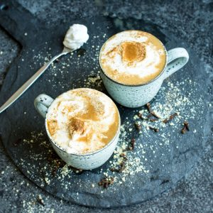 Vegan Chai Tea Lattes. Refined sugar free and ready in under 10 minutes!