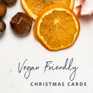 Vegan Friendly Christmas Cards