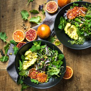 Blood Orange Salad with a Balsamic Vinegar Dressing (+ a Food Photography Video!)