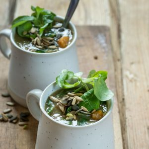 Hearty Lentil, Potato and Greens Soup