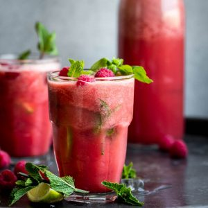 Watermelon Basil Cooler